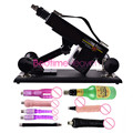 New Arrival Automatic Sex Machine Gun with 7 kinds Dildos Sex Machine Attachments Noiseless Sex Love Machines Stronger Power