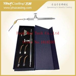 Кислородный газовая горелка, goldsmoth Сварочная горелка с 5 наконечниками для ювелирных изделий, инструменты для ювелирных изделий