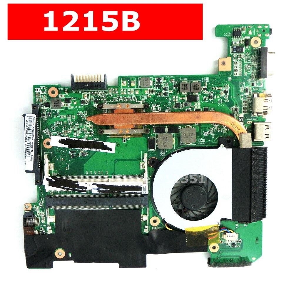 1215B Mainboard REV2.0 For ASUS EeePC 1215B Laptop motherboard With Fan Heatsink 1215B Motherboard Test 100% ok1215B Mainboard REV2.0 For ASUS EeePC 1215B Laptop motherboard With Fan Heatsink 1215B Motherboard Test 100% ok