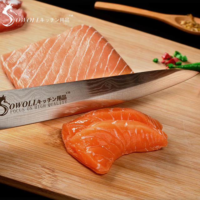 Stainless Steel Japanese Salmon Sushi Knives