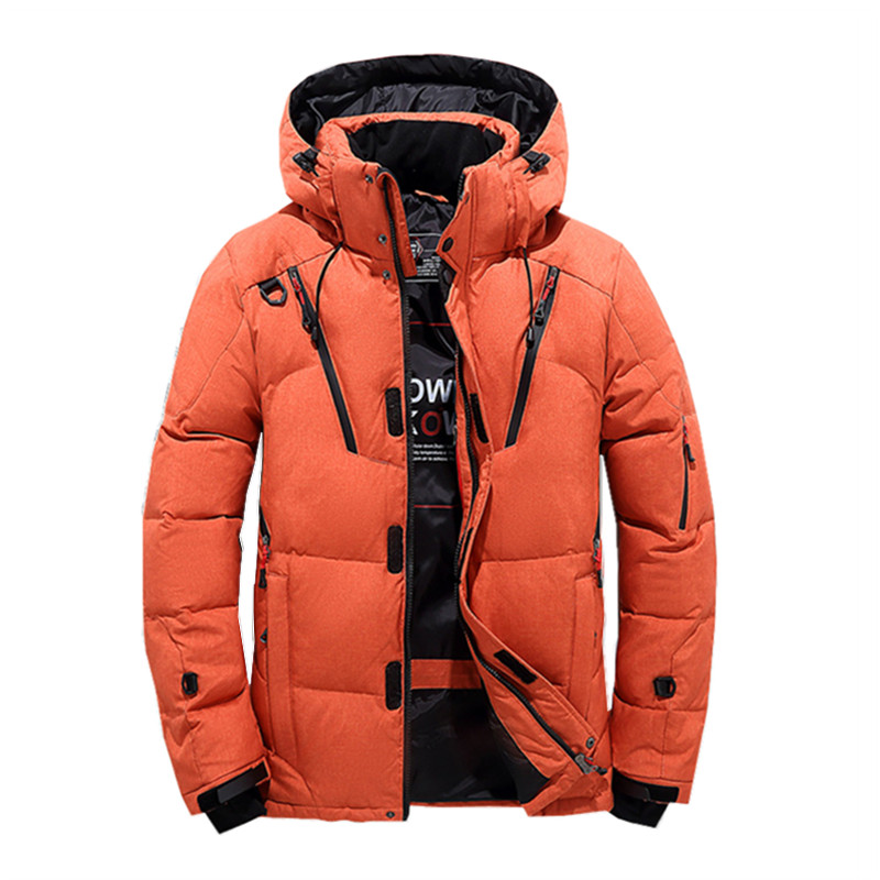 2018 Winter Jacket Men Thick Hooded Fur Collar   Down   J Men   Coats   Casual Padded Men's Jackets Male Clothing