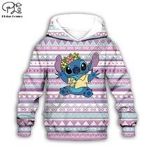 Anime boy girl clothing kawaii Lilo Stitch 3d print Kids Cartoon Hoodies/zipper/sweatshirt/tshirt/shorts/pant child boho set anime cartoon lilo