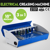 lacquer machine line Metal 3in1 Electric Book Cover Paper Creasing Machine lacquer machine line110V