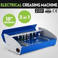 Linha da máquina da laca de metal 3in1 elétrica livro capa papel vincando máquina laca line110v