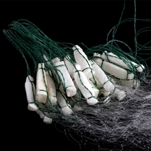 Fishing Fish Mesh Trap Monofilament Gill Net Netting Tackle Outdoor 8M x 0.8M цена и фото