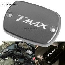 For YAMAHA T-Max 500 TMax 530 2012 2013 2014 2015 2016 Motorbike Brake Fluid Tank Cap T max Motorcycle Fluid Oil Reservoir Cover цена в Москве и Питере