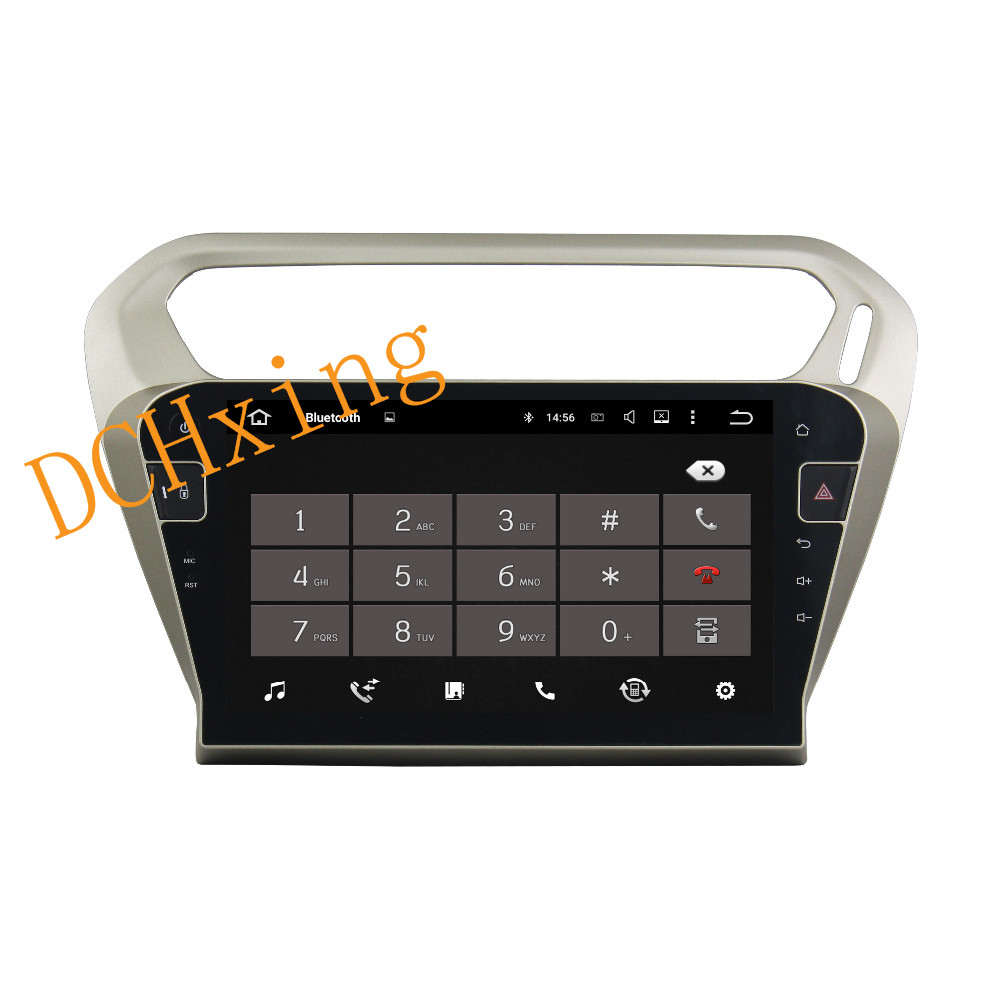 """Best 10.1"""" Octa Core Android 9.0 8 core 64G ROM 4G RAM Car DVD Player for Peugeot PG 301 2013-2016 Citroen Elysee GPS Radio 3"""