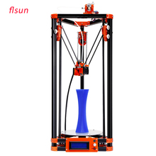 2017 LCD Diy FLSUN 3d Metal Printer, Large Printing Size 3d-Printer Delta Kossel 3d Printer Kit One Roll Filament SD Card