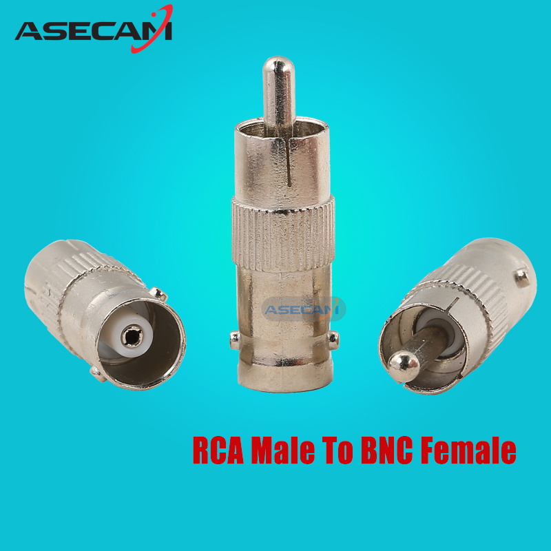 CCTV Video BNC Female TO RCA Male Plug COAX Adapter Connector for Surveillance Security Camera s video male to rca female video adapter