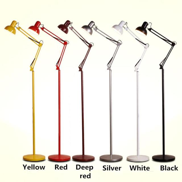 Industrial Loft Floor Lamps Living Room Bedroom Studyroom Reading Lights Modern Minimalist Tattoo Embroidery Physiotherapy Lamps