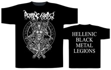 Vintage Tees Funny O-Neck Rotting Christ Hellenic Black Metal Legions Short-Sleeve Mens T Shirt