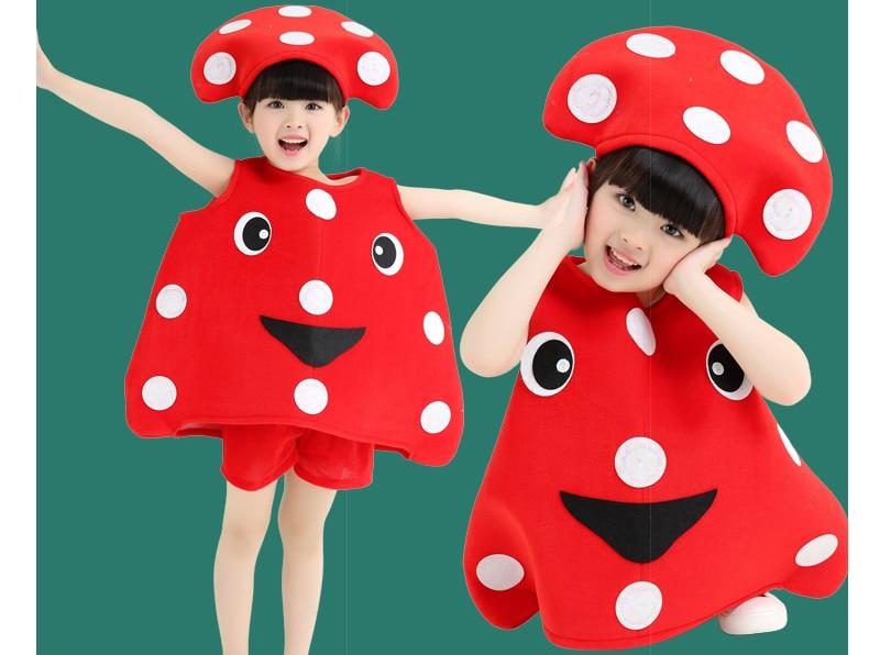 enfants \\ maternelle de groupe fruits des plantes et légumes champignon  costumes. L POUR 100,120 CM XL POUR 120,150 CM