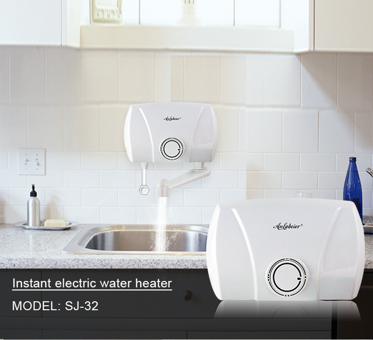 Hot Sales 5.5kw 220v 240v Kitchen Use Water Heater Electric With Outlet Pipe