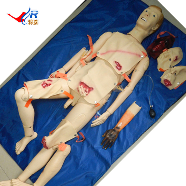 Advanced Trauma Care Manikin, Wound Care and Nursing Manikin bix h2400 advanced full function nursing training manikin with blood pressure measure w194