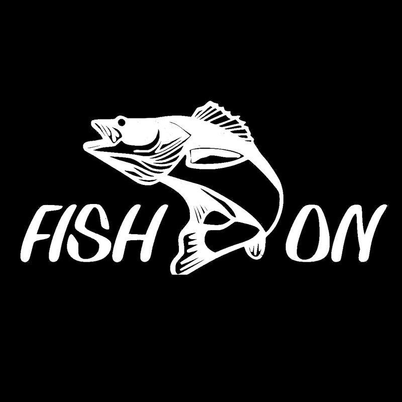 Fish For Auto Car//Bumper//Window Vinyl Decal Sticker Decals DIY Decor CT865