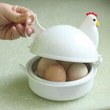 Hohe Qualität Huhn Shaped Mikrowelle Eier Kessel Herd Küche Kochen Geräte, Home Werkzeug. Kostenloser versand.