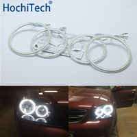 Ultra bright SMD white LED angel eyes halo ring kit daytime running light DRL for Chevrolet Lacetti Optra Nubira 2002 2008