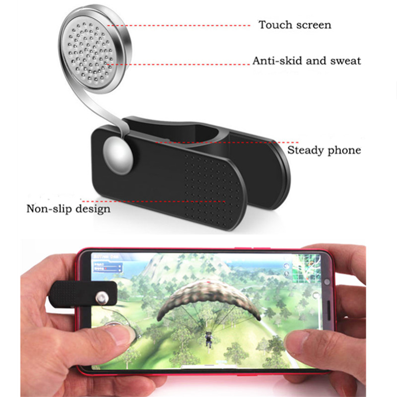 2018 Knives out Rules of Survival Mobile Game Fire Button Aim Key Smart phone Mobile Gaming Trigger L1R1 Shooter Controller
