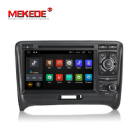 MEKEDE Quad core Android 7.1 7inch 2din Car Multimedia Car Radio Audio Car DVD player For Audi TT 2003 2010 support 4G Wifi BT