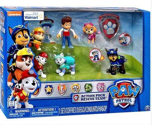 Original box- Genuine Paw Patrol 6 Pack Action Pups Rescue Team Set chase marshall ryder everest skye rubble childrens toy giftOriginal box- Genuine Paw Patrol 6 Pack Action Pups Rescue Team Set chase marshall ryder everest skye rubble childrens toy gift