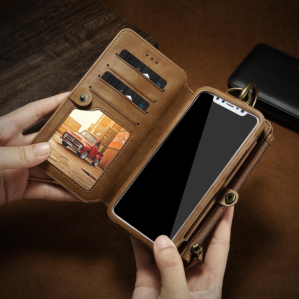 עבור apple Floveme יוקרה רטרו קלאסי ארנק Case עבור Apple iPhone 6 6S פלוס עור 5.5inch תיק Stand With ארנק נשלף Cover (5)