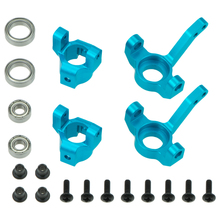 Alum C Hub Carrier Knuckle Kit for RC 1/10 AXIAL SCX10 Electric 4WD Jeep Wrangler Upgraded Parts цена