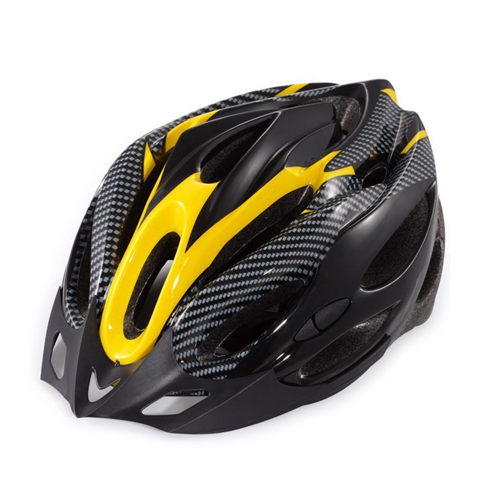 Helmet Bike Sports-Equipment Mountain-Bicycle Outdoors Protective Integrated-Molding