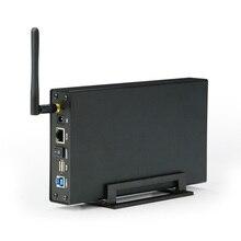 Внешний жесткий диск HDD Чехол Nas антенна wifi беспроводной wifi Sata USB 3,0 wifi hdd интерфейс алюминиевый HDD коробка 3,5 Caddy-in HD