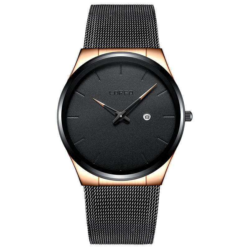 LOREO 1110 Germany watches men luxury brand Bauhaus Casual Quartz Watch Men Sports Watches Military Wristwatch Relogio Masculino loreo casual mens watches brand luxury leather men military wrist watch fashion men sports quartz watch relogio masculino m32