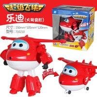 Big Size 12 CM Super Wings Zabawki Samoloty Transformacja Deformacji robota Dla Christmas gift Brinquedos Zabawki Dla Dzieci Najlepsze Prezenty