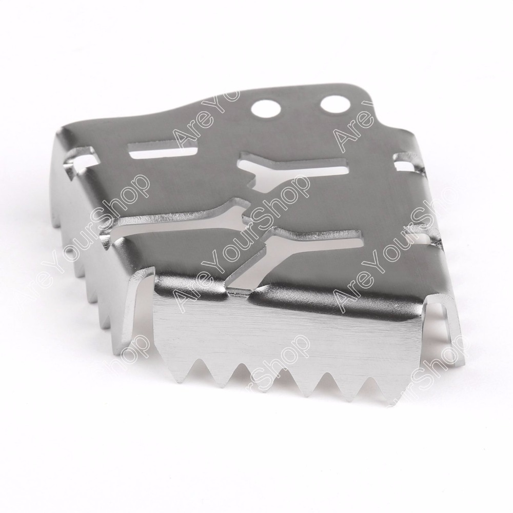 Продажи ЧПУ сзади педаль тормоза рычаг шаг пластины наконечник увеличить для KTM 1190 Приключения 2013 до