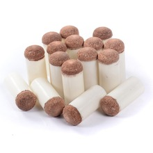 Free Shipping 10pcs/a lot Cuesoul 9-13mm Brown Billiard Pool Snooker Cue Tips From Billiard Accessories Supplies цена и фото
