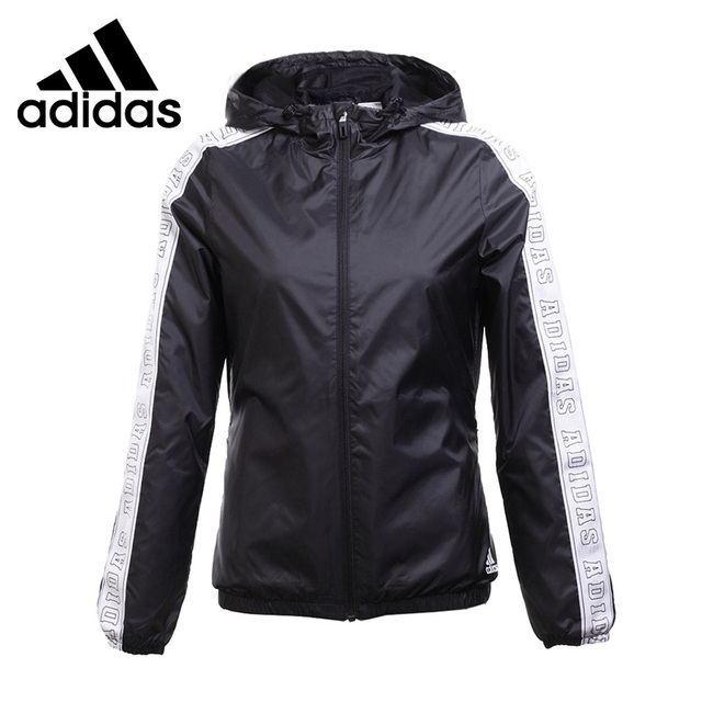 590fb5554a76 Original New Arrival 2017 Adidas WB WV TAPE Women s jacket Hooded Sportswear