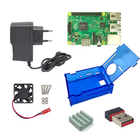 Raspberry Pi 2 Model B Kits---Raspberry Pi 2 Board+Heat Sink+Raspberry Pi B plus Case+Power Charger Better Than Raspberry Pi B+