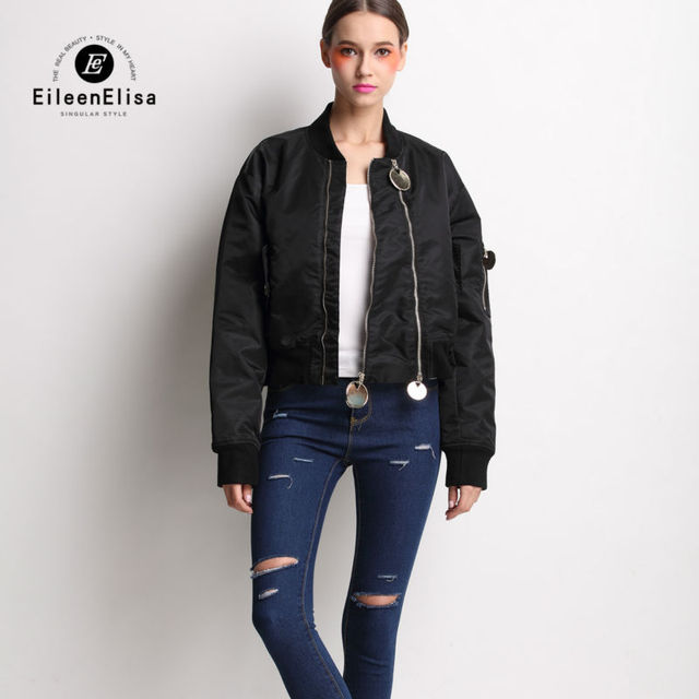Aliexpress.com : Buy Bomber Jacket Women 2017 Runway Coat Jacket ...