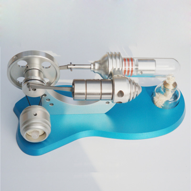 цены New boutique Stirling engine generator micro engine model external combustion engine can be started