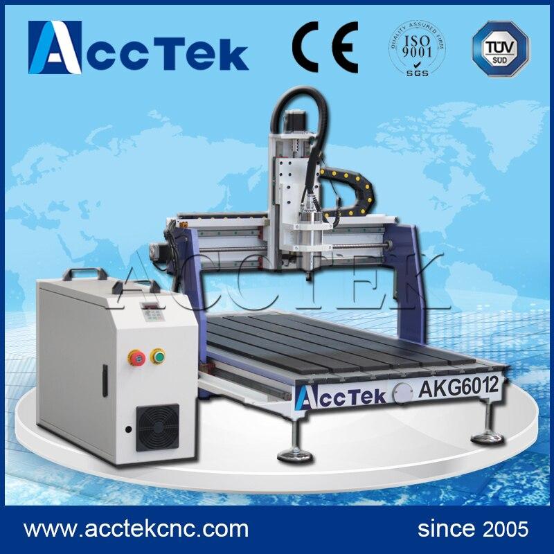 AKG6012 cnc engraving woodworking AccTek cnc router 6012