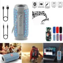 Portable Speaker Wireless Bluetooth Speakers Soundbar Outdoor Sports Waterproof Support TF Card FM Radio AUX Input MP3 TG117