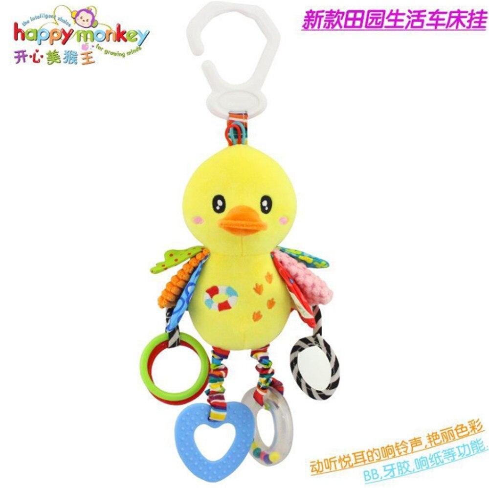 Happy Monkey bebé campanilla neonatal bebé juguetes con campana BB - Juguetes para niños - foto 3