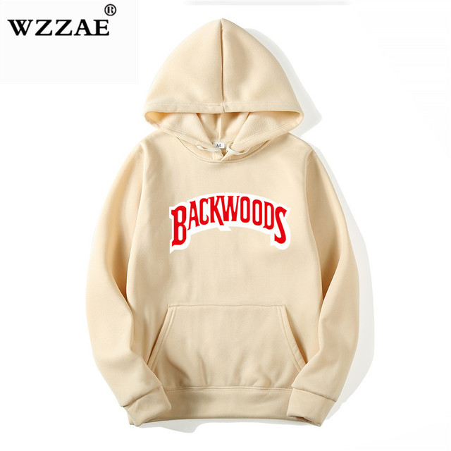 The screw thread cuff Hoodies Streetwear Backwoods Hoodie  2