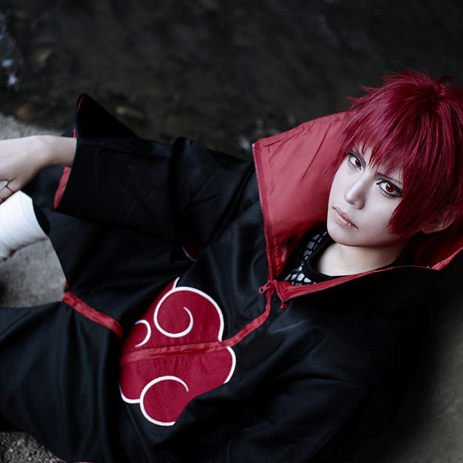 Image 3 - Naruto Cosplay Costume Akatsuki Cloak Hawk/Snake Cosplay Costume-in Anime Costumes from Novelty & Special Use