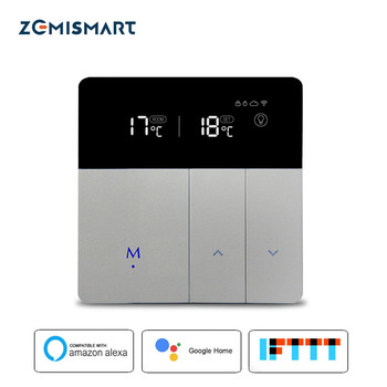 Electric Floor Heating Thermostat Work with Alexa Google Home Smart WIFI Control external Temperature Controller 16A 110v  240v