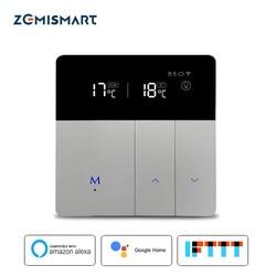 Elektryczny termostat do ogrzewania podłogowego praca z Alexa Google Home inteligentne sterowanie przez wifi zewnętrzny regulator temperatury 16A 110v 240v w Moduły automatyki domowej od Elektronika użytkowa na