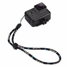 Wrist Alça de Mão Corda cabo de Corda Corda de Nylon Ajustável para GoPro Hero 5 4 3 2 Tripé de Câmera Monopé pacote de Acessórios de 4