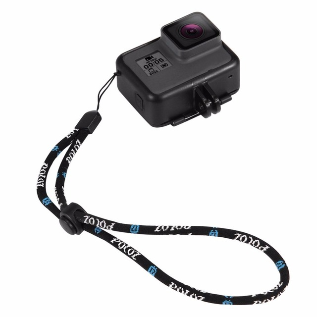 Nylon Adjustable Wrist Strap String Hand Lanyard Rope Cord For GoPro Hero 5 4 3 2