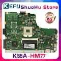 KEFU para ASUS K55VD A55V R500V K55V A55VD REV.3.0/3,1 placa base para ordenador portátil probada 100% placa base original de trabajo