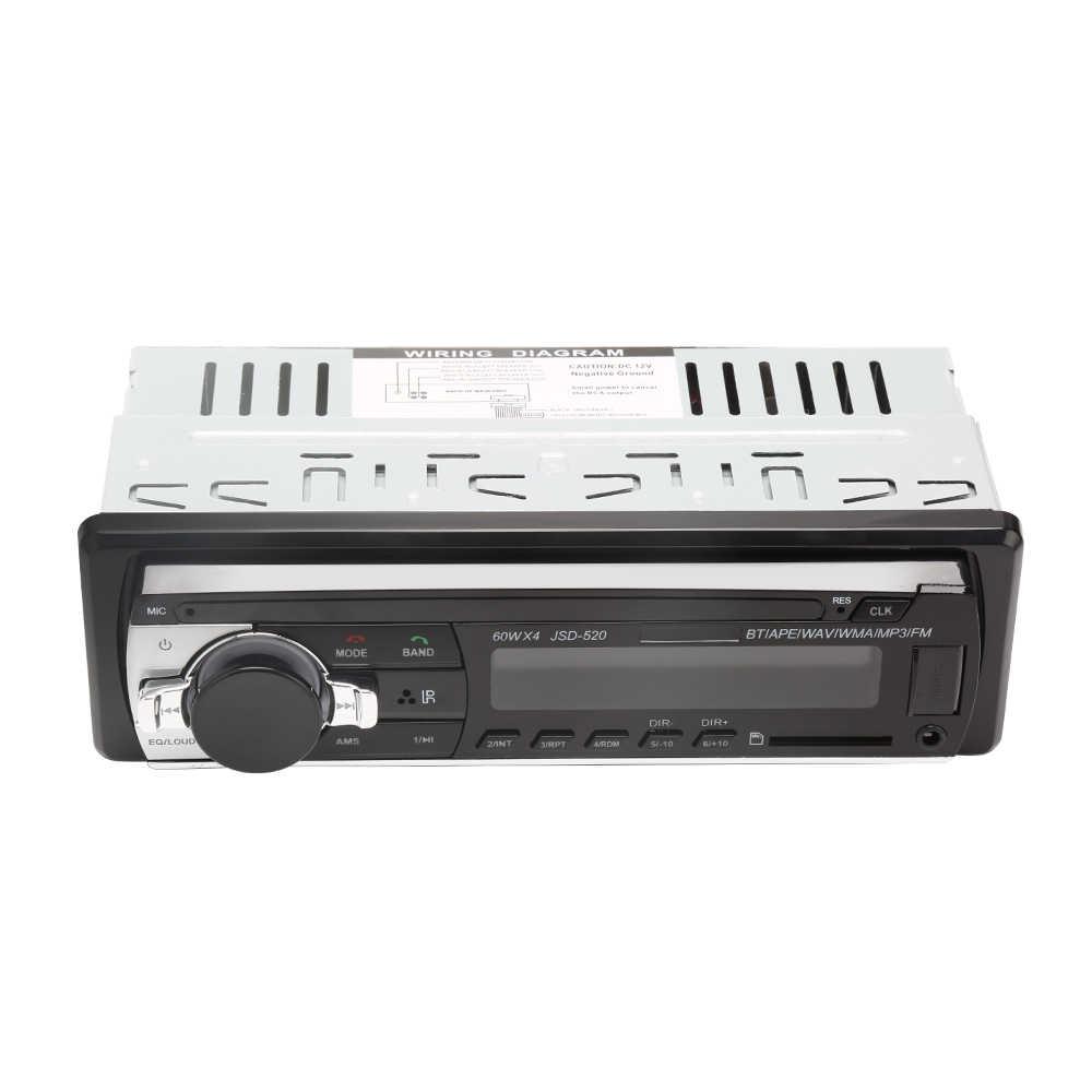 12V Fm Car Stereo Radio Bluetooth 1 Din In Dash Wiring Diagram from ae01.alicdn.com