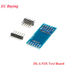DL-LN3X Series Adapter Plate Adapter Board2.4G Wireless ad noc Network Multi-hop Module Test Board for IoT(China)