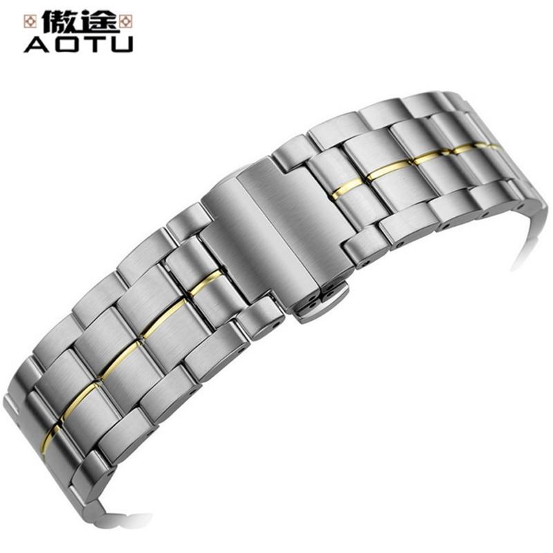 22mm Stainless Steel Watchbands For Tissot 1853 T086 Men Watches Strap Elegant Metal Male Bracelet Belt Watch Band For Tissot tissot t100 417 16 051 00