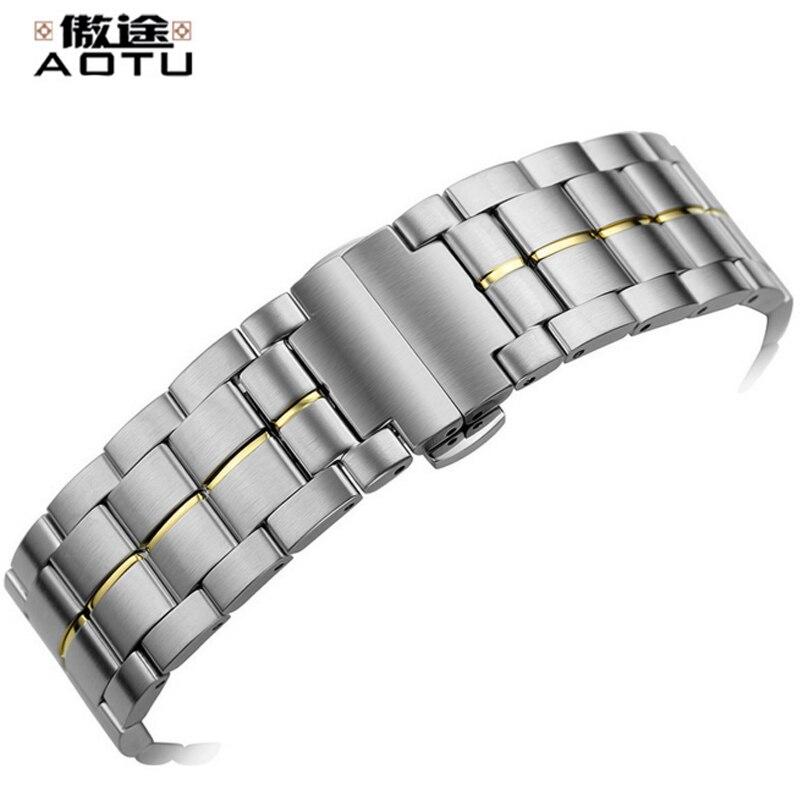 Bracelets de montre en acier inoxydable 22mm pour Tissot 1853 T086 hommes montres Bracelet élégant Bracelet en métal mâle ceinture Bracelet de montre pour Tissot